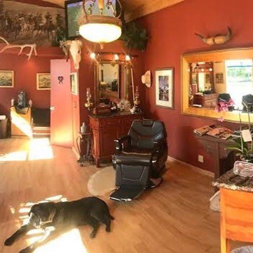 The Ranch Salon at Bon Air, voted Best Barber in the PacificSun Best of Marin 2020 Awards