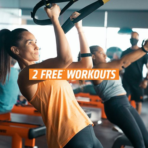 Get two free classes at Orange Theory fitness at Bon Air!