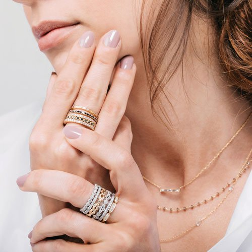 LAYERS OF HAUTE JEWELS at Bon Air
